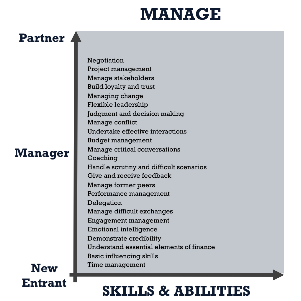 Manage Core Skills and Abilities
